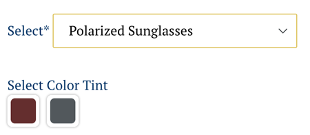 Polarized Sunglasses Color Choices
