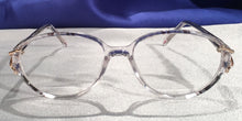 Front view of Duchess clear translucent eyeglasses