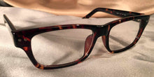 Gotham Eye Gear Tortoise Shell Eyeglass Frames Three Quarter View