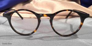 Front view of Governor's Poor Boys dark hue tortoiseshell eyeglasses
