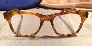Hampshires – Smokey Gold Tortoise Shell Eye Frames