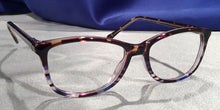 Montereys Blue and Brown Tortoise Shell Frames Side View