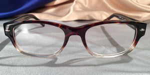 Front view of Tango Army eyeglasses
