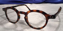 Side view of Westminster Halls tortoiseshell eyeglasses