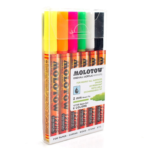 127 Molotow Marker - 6 Pack