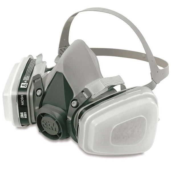 3M Gas Mask 6000 & Indoor Highest Strength Filter