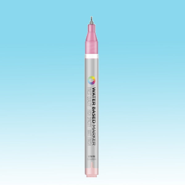 MTN Ultra Fine Water Based Marker [0.8MM] - Phthalo Blue Light