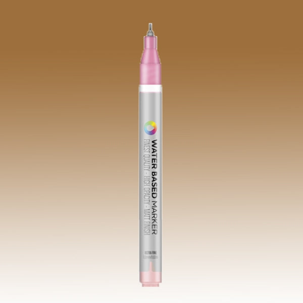 MTN Ultra Fine Water Based Marker [0.8MM] - Raw Siena