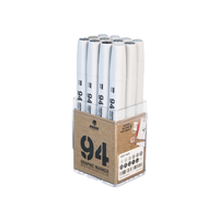 MTN 94 Graphic Markers - 12 Set (Grey)