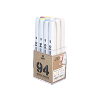 MTN 94 Graphic Markers - 12 Set (Pastel)