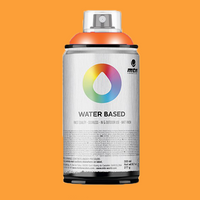 Montana waterbase spraypaint Azo Orange Light