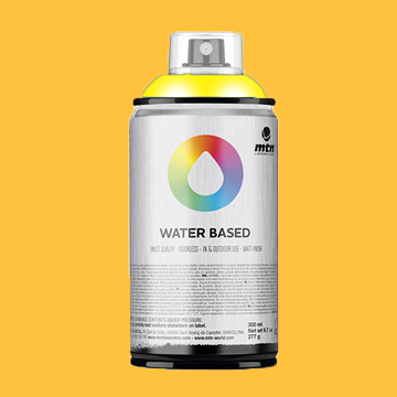 Montana waterbase spraypaint azo yellow deep