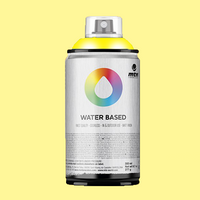 montana water based spraypaint cadmium yellow light