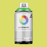 Montana water based spraypaint brilliant yellow green