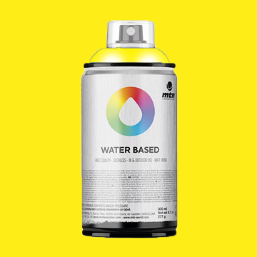 Montana water based spraypaint cadmium yellow medium