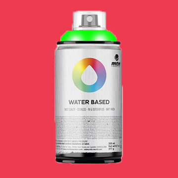 Montana waterbase spraypaint Flourescent Red