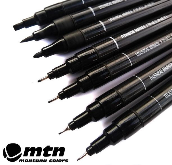 MTN Technical Markers x 7 Set
