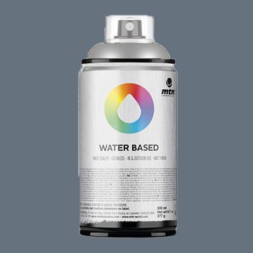 Montana waterbase spraypaint Neutral Grey Deep