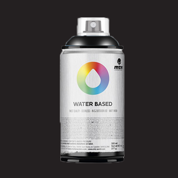 Montana waterbase spraypaint carbon black