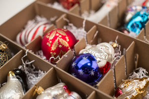 Preserve your collection of Swarvoski, Radko, Patricia Breen, Georg Jenson or Michael Storrings Ornaments with an Ultimate Christmas Storage Box— Truly the Best Storage for Your Heritage and Designer Christmas Ornaments!