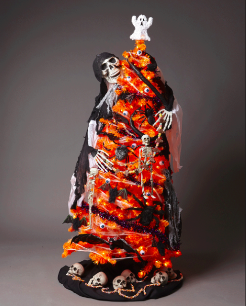 Extreme Christmas Trees: Halloween Ornaments For Halloween Trees