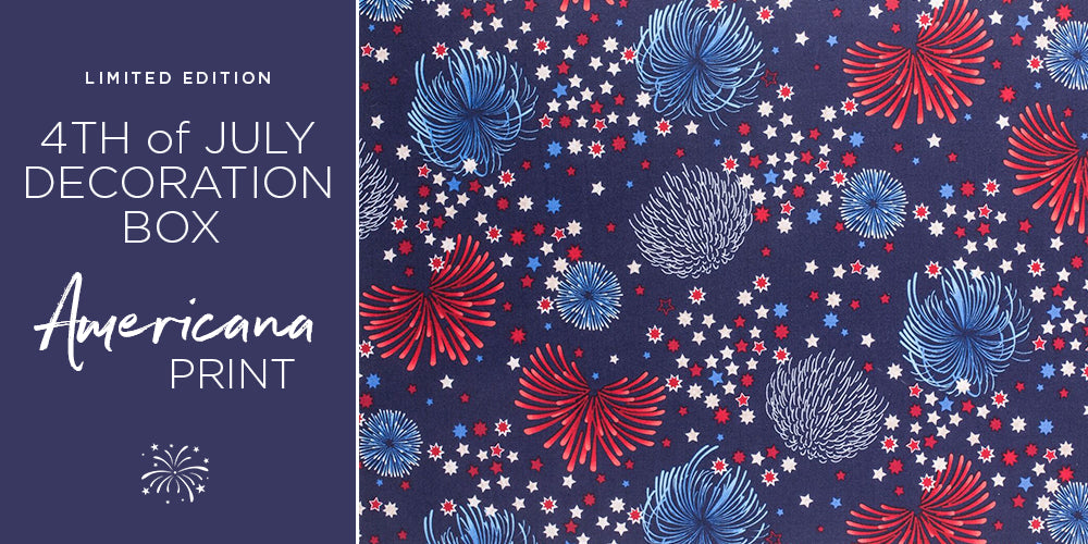 AMERICANA limited edition pattern for July 4th Celebrations