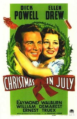 Christmas in July Classic Movie
