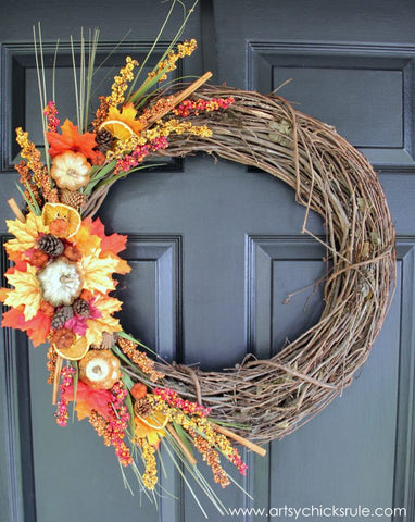 Thanksgiving Decoration wreath