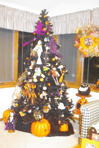 Halloween Tree decorations inspiration