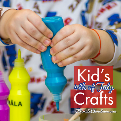 kids crafts 4th of July ideas