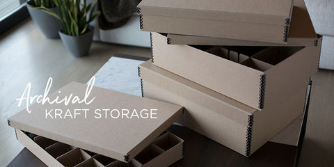 Ultimate Christmas Kraft Storage Boxes