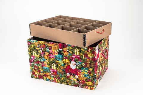 Ultimate Christmas St. Nicholas Ornament Storage box