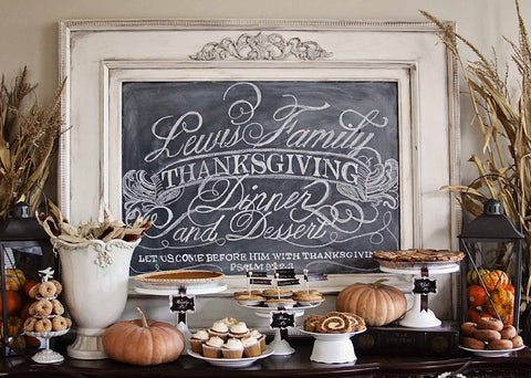 Thanksgiving Decoration sign