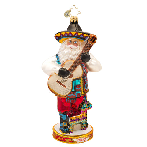 Radko Travel ornament Mexico