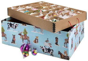 Ultimate Ornament Box - Holly Jolly Critters, Limited Edition