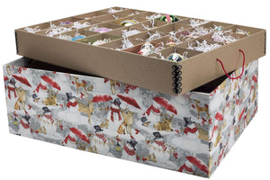 Ultimate Ornament Box - Let it Snowman