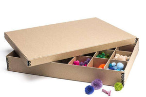 "28 Compartment Archival Storage Box, 3"" High"