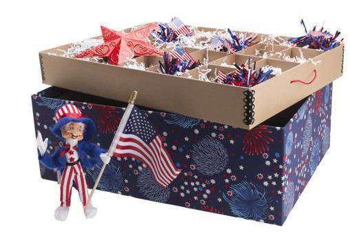 Ultimate Ornament Box - Americana