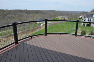 Deck Railing Design Ideas with InvisARail®