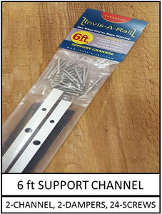 6ft Support Channel Kit | InvisARail®
