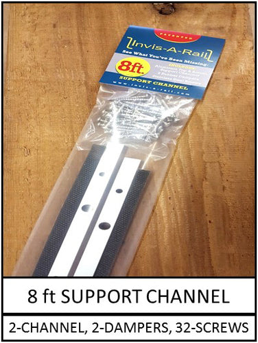8ft Support Channel Kit | InvisARail®