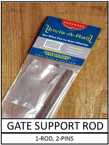 Gate Support Rod - 1 pack | InvisARail®