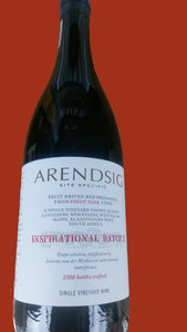 Arendsig Inspirational Batch Wines - Pinot Noir