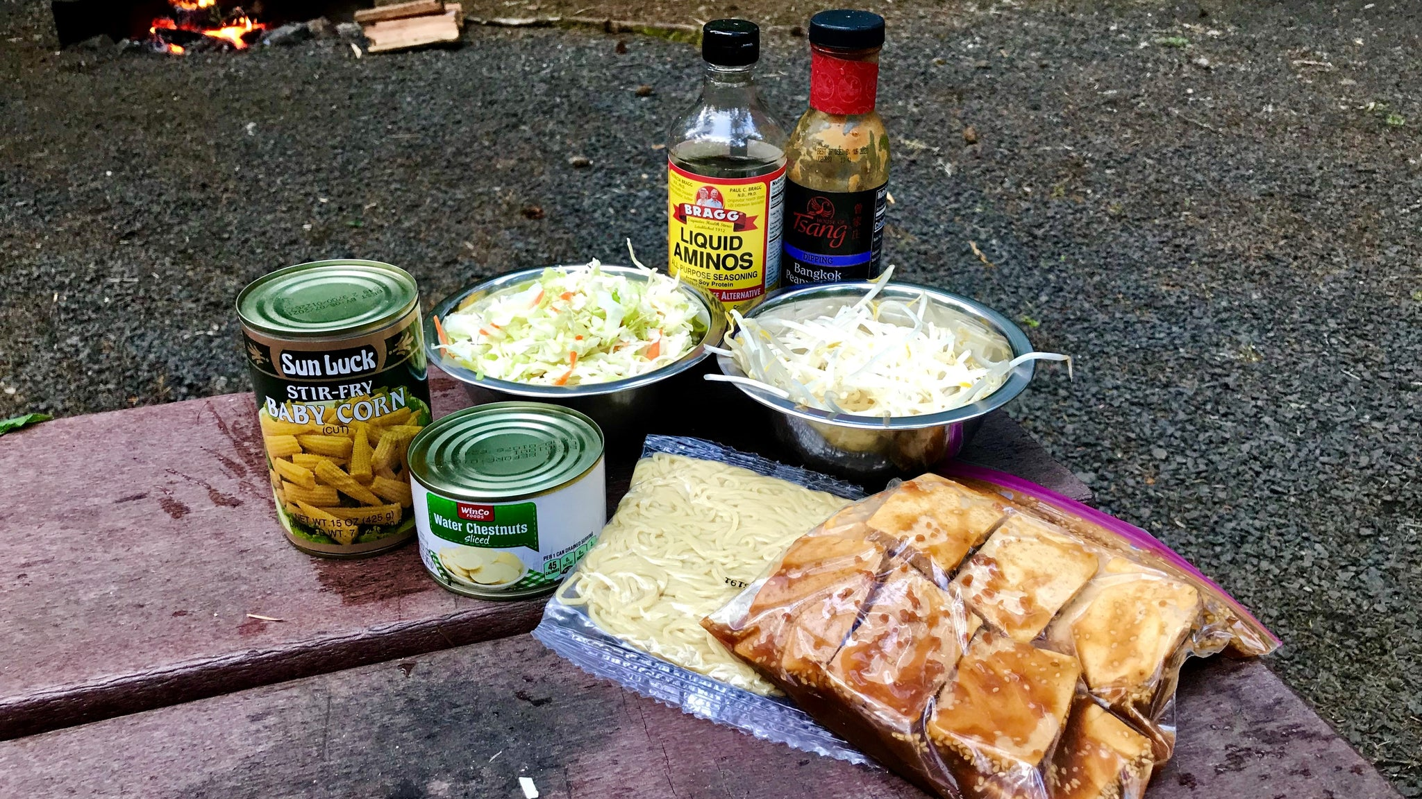 Make Ahead Camping Meals: Yakisoba Noodles