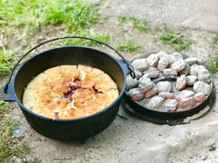 make ahead camping meals ; dutch oven recipes ; backcountry cooking