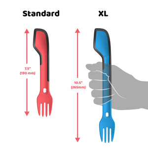 Morsel Spork XL - Backpacking Utensil Of Your Dreams