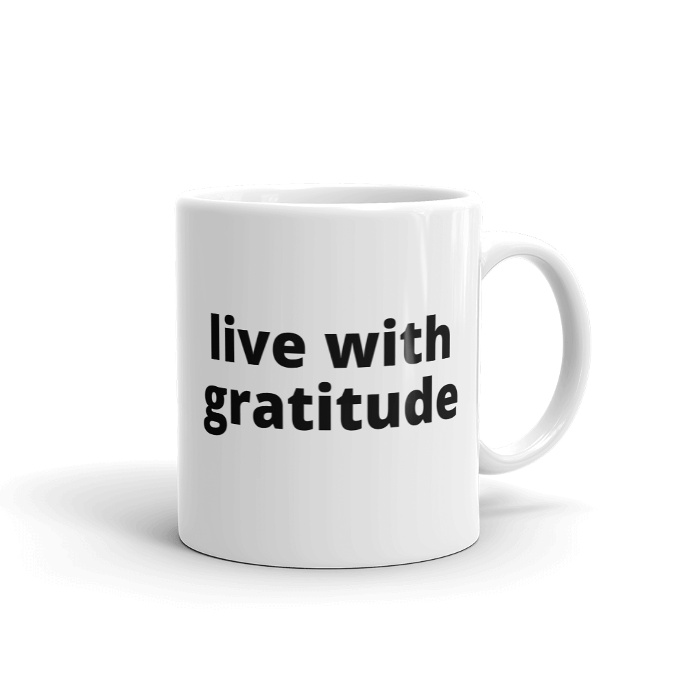 live with gratitude - G's Online Store