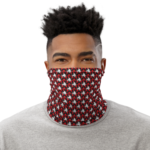 G Athletics Ballers Neck Gaiter Red