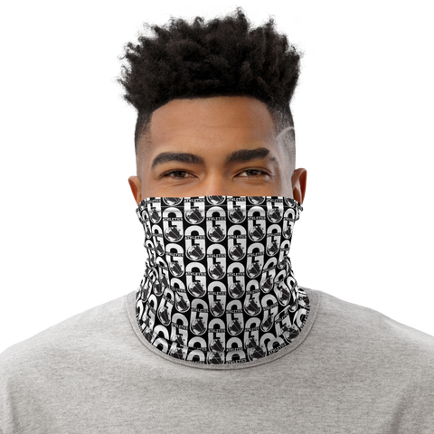 G Athletics Ballers Neck Gaiter Black