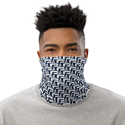 G Athletics Neck Gaiter Navy Blue